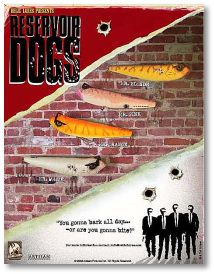 Reservoir Dogs fishing lures